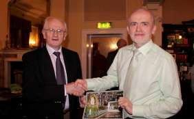 Presentation to Billy Sheehan, by Padraig O Conaill