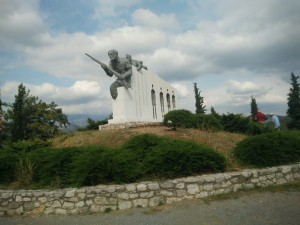 Monument on way to Delphi